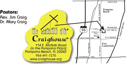 Craighouse Map