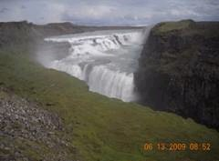 the Falls in Iceland
